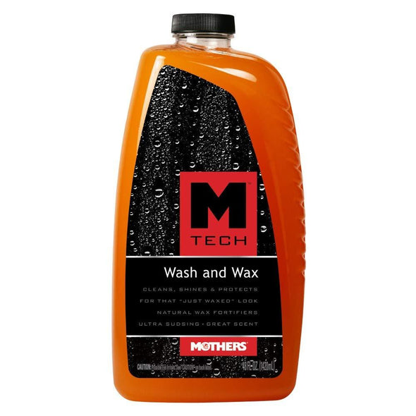Mothers 25678 M-Tech Wash and Wax, 48 fl. oz. - The Car Wizz AutoStore