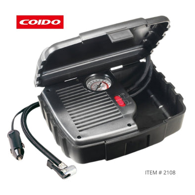 New - COIDO Plug & Play Car Tyre Inflator with Carry Case - The Car Wizz AutoStore