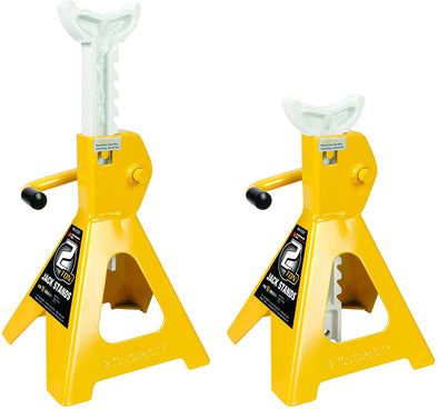 Performance Tool 2 Ton (4,000 lbs.) Capacity Heavy Duty Jack Stand Set - The Car Wizz AutoStore