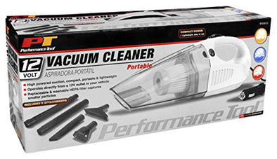 PT Performance Tool Car Vacuum, DC 12V / 90 Watt - The Car Wizz AutoStore