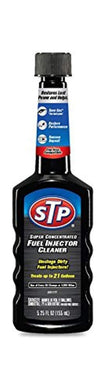 STP Super Concentrated Fuel Injector Cleaner 5.25 fl Oz Bottles - The Car Wizz AutoStore