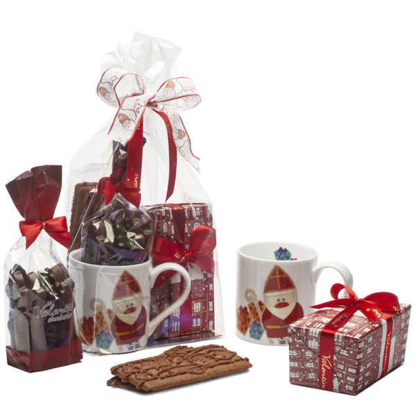 St-Nicolas Mug with box of chocolates