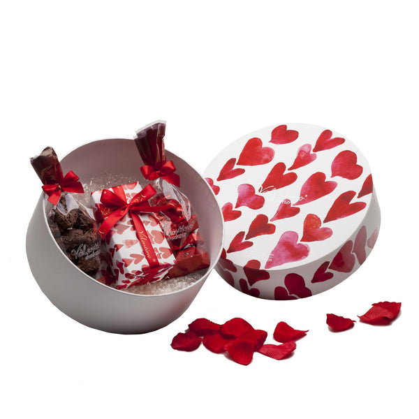 Red Hearts Hatbox 1