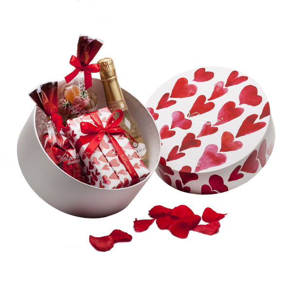 Red Hearts Hatbox 3