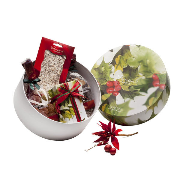 Chirstmas Holly Hatbox 1