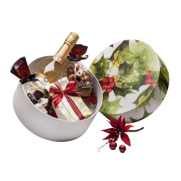 Christmas Holly Hatbox 3