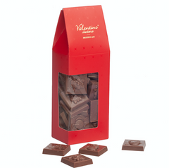 Kerst caraques donkere chocolade