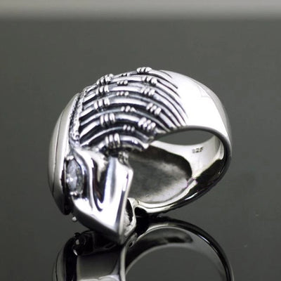 925 pure silver thai silver ring - Mirage Novelty World