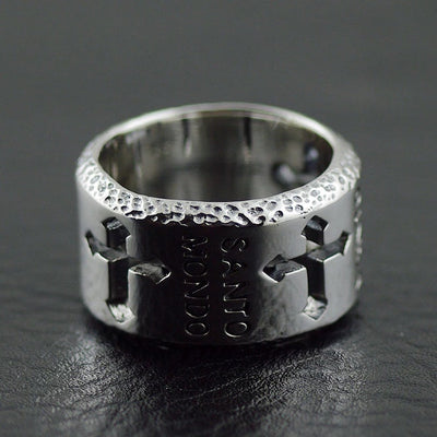 Thailand imports 925 sterling silver ring the Holy Cross ring Man's silver ring - Mirage Novelty World