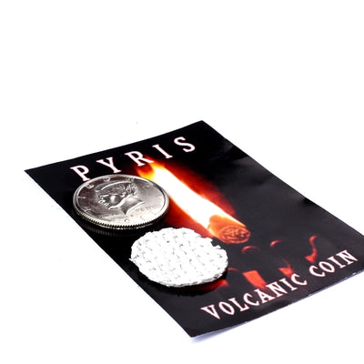 PYRIS by Nicolas Lepage-Magic Tricks fire coin in the hand Liquid Close Up Magic Mentalism Gimmick - Mirage Novelty World