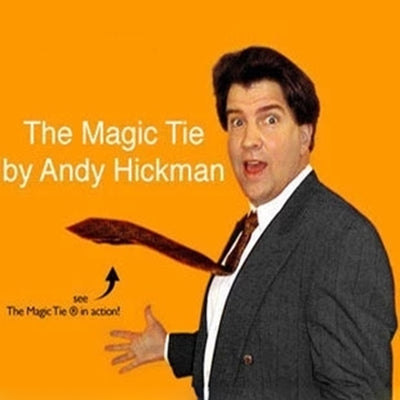 The Magic Tie Magic Trick Deluxe Comedy Pop Up Neck Tie Rising Magic Trick - Mirage Novelty World