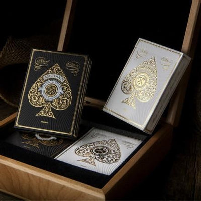 ORIGINAL Bicycle White Artisans Deck T11 Deck Playing Cards Best Poker New Bicycle magic Playing Card Ellusionist Tricks - Mirage Novelty World