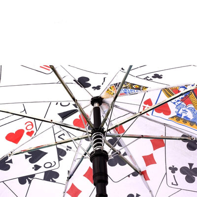 Magic Umbrella Poker Magic Tricks ( Medium Size, 40.5cm Length) Poker Umbrella Magic Stage For Magician - Mirage Novelty World