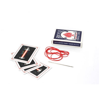 Needle Through Deck Magic Tricks Card Magic Props - Mirage Novelty World