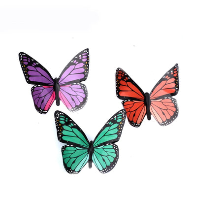 Magic Appearing Butterflies ( 10 pcs ) Magic Tricks Butterfly From Silk Freedom - Mirage Novelty World