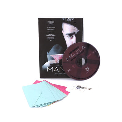 Manila (Gimmicks & DVD ) By Julio Montoro -Magic Tricks Mentalism Card Magic - Mirage Novelty World