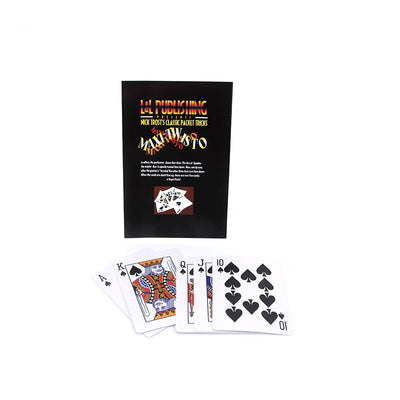 MAXI-TWISTO Maxi'S Distortion Magic Tricks Playing Card Poker Close-Up Stage - Mirage Novelty World