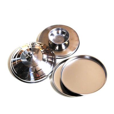 Large Dove Pan Of Collector - Silver Double Layer/Load Magic Tricks  Appearing Stage Magic - Mirage Novelty World