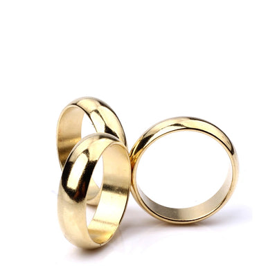 Gold Cambered PK Ring Magic Tricks Strong Magnetic Ring PK Ring Coin Finger Magic Show - Mirage Novelty World