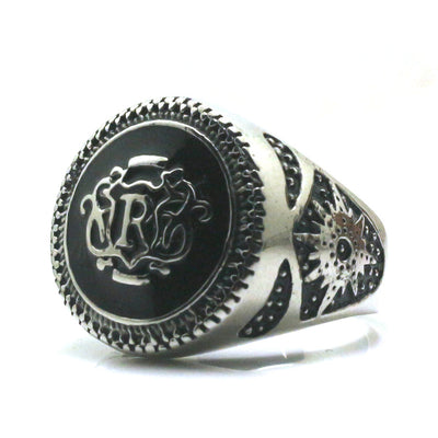 Mens 316L Stainless Steel Vintage Royal Newest Ring - Mirage Novelty World