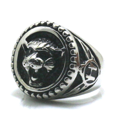 316L Stainless Steel Cool Tiger Cool Newest Ring - Mirage Novelty World