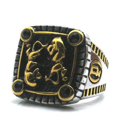 316L Stainless Steel Cool Lion Newest Ring - Mirage Novelty World