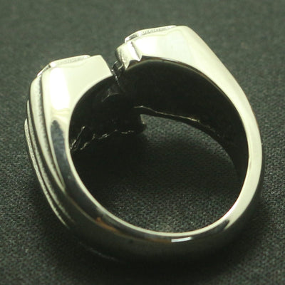 Newest Design '666' Cool Ring 316L Stainless Steel Sliver Fashion A Gift - Mirage Novelty World
