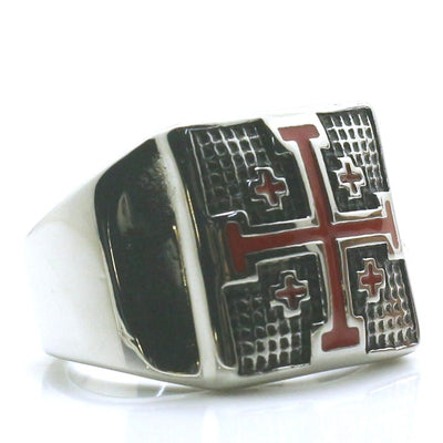 Unisex 316L Stainless Steel The Orthodox Church Cross Newest Ring - Mirage Novelty World