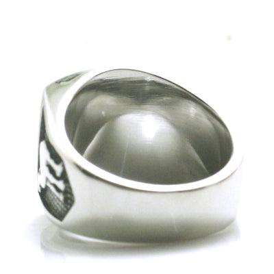Mens Boys 316L Stainless Steel Cool Silver Newest Stars Classic Camel Ring - Mirage Novelty World