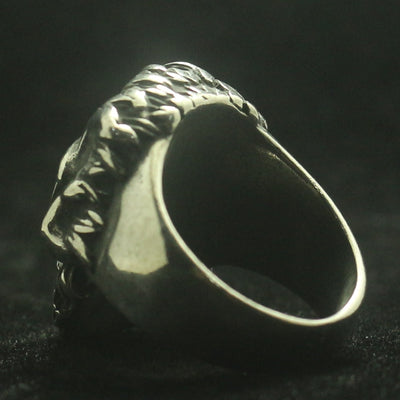 Biker Mens Boys 316L Stainless Steel Cool Punk Gothic Cool Skull Ring Newest - Mirage Novelty World