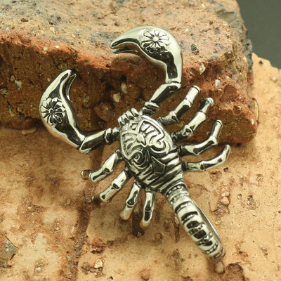 316L Stainless Steel Cool Scorpion Classic Hot Pendant - Mirage Novelty World