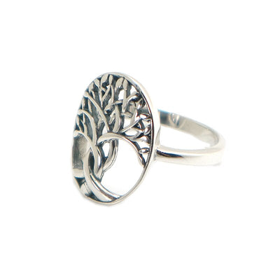 Unisex 925 Silver Cool Newest Tree Ring For Gift - Mirage Novelty World