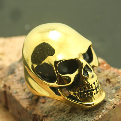 Hot Biker Skull 316L Stainless Steel Ring - Mirage Novelty World