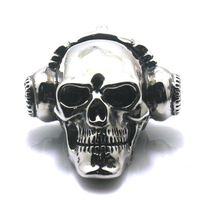 316L Stainless Steel Cool Polishing Earphone Rock & Roll Newest Pendant - Mirage Novelty World