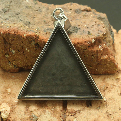 Mens Boys 316L Stainless Steel Cool Punk Gothic All See Eye Pendant - Mirage Novelty World