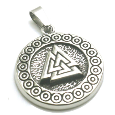 316L Stainless Steel Cool Viking Pendant - Mirage Novelty World