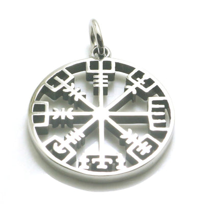 316L Stainless Steel Cool Viking Simple Silver Vintage Pendant - Mirage Novelty World