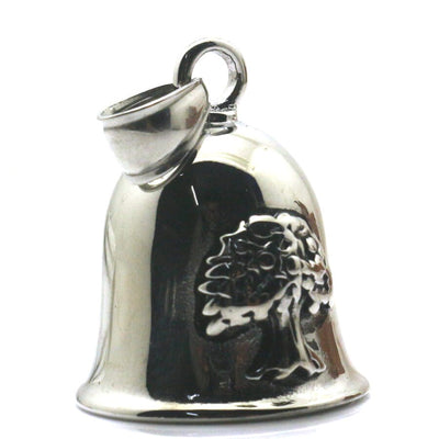 316L Stainless Steel Polishing Christmas Tree Jingle Bell Pendant Cool Gift - Mirage Novelty World