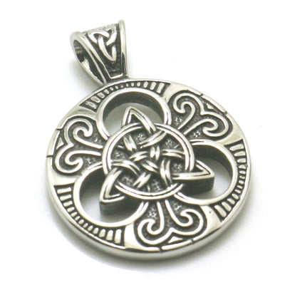 Men Boy 316L Stainless Steel Cool Viking Vintage Silver Newest Pendant - Mirage Novelty World