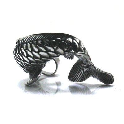 Men 316L Stainless Steel Cool Punk Gothic Arowana Pendant Newest - Mirage Novelty World