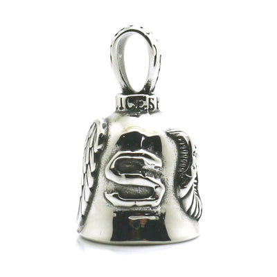 Men Boy 316L Stainless Steel Angle Wing Bell Pendant Newest - Mirage Novelty World