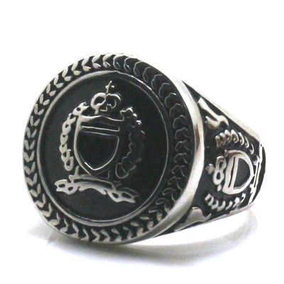316L Stainless Steel Cool Crown Ring - Mirage Novelty World