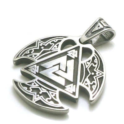 Men Boy 316L Stainless Steel Cool Viking Newest Pendant - Mirage Novelty World