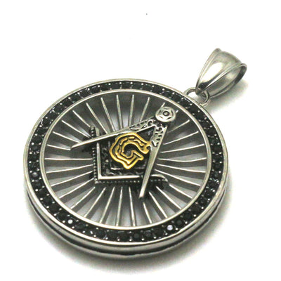 Men 316L Stainless Steel Cool Freemasons Newest Pendant - Mirage Novelty World