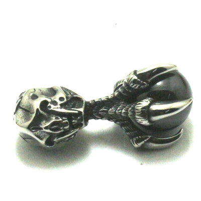Cool Big Black Stone Eagle Claw 316L Stainless Steel Pendant Gift For Friend - Mirage Novelty World
