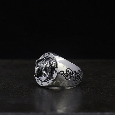new energy-saving ring manufacturers wholesale silver S925 Silver Ring retro personality - Mirage Novelty World
