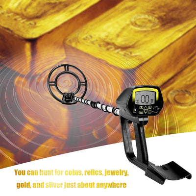 MD4030 Upgraded MD4060 Professional Pinpointing Portable Underground Metal Gold Detector Treasure Hunt Tracker for Search