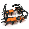 12-point Climbing Manganese Steel Winter Ice Gripper Crampons Snow Spikes Climbing Gear Crampons Ice Grippers Traction Device - Mirage Novelty World