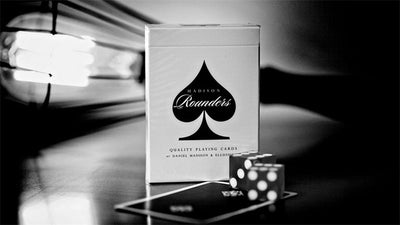 Black Madison Rounders Black Deck By Daniel Madison and Ellusionist Quality Playing Cards Magic Tricks - Mirage Novelty World