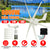 6000W Wind Generator+Controller 12V/24V/48V 6 Blade Black Wind Turbines Horizontal Home Powers Windmill Energy Turbines Charge